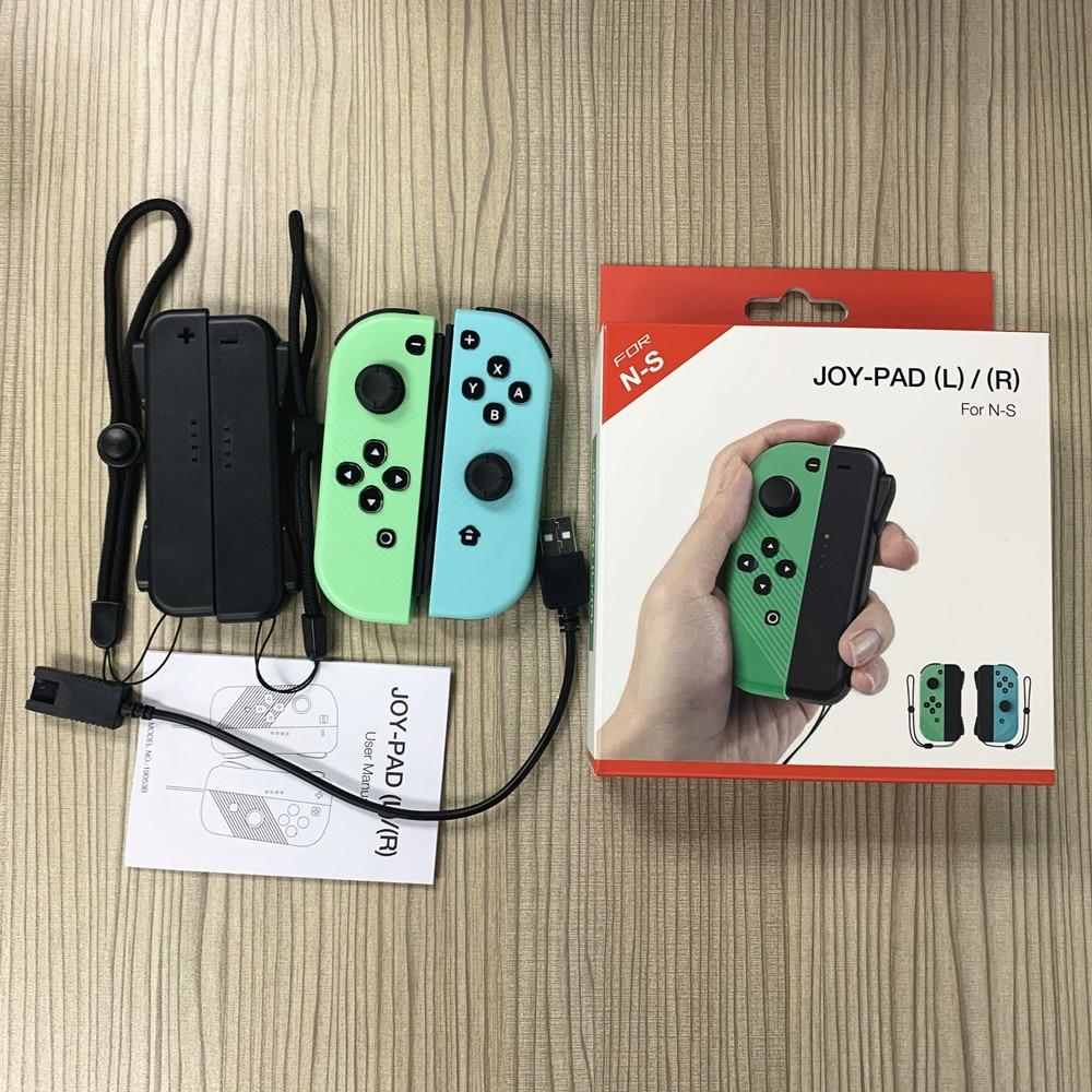 Novo interruptor de jogo sem fio controlador left & right bluetooth gamepad para nintend switch ns alegria jogo con punho aperto para interruptor|Gamepads|   -