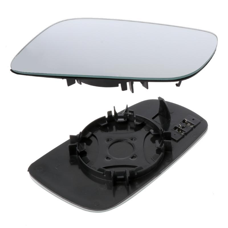 White Rearview Mirror Glass Left Cab Heatable Lens For Bora