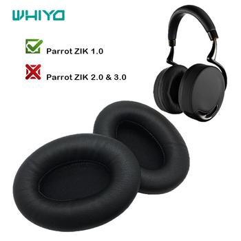 Whiyo 1 Pair of DIY Replacement EarPads for Parrot ZIK 1.0 1 by Philippe Headphones Cushion Ear pad Cups Earmuffes Cover Sleeve ear pads replacement cover for creative sound blaster tactic 3d sigma tactic360 headphones earmuffes headphone cushion
