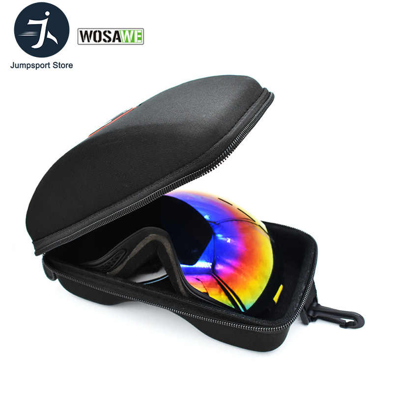Hard Protector Box Bag for Winter Sport Ski Motorcycle Snowmobile Goggle Case