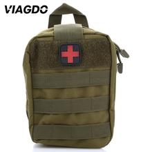 Outdoor Military Emergency First Aid Bag Molle Tactical Pouch Waist Pack 600D Nylon Survive Medical Kits Bag for Travel Climbing brand new outdoor edc molle tactical pouch bag emergency first aid kit bag travel camping hiking climbing medical kits bags