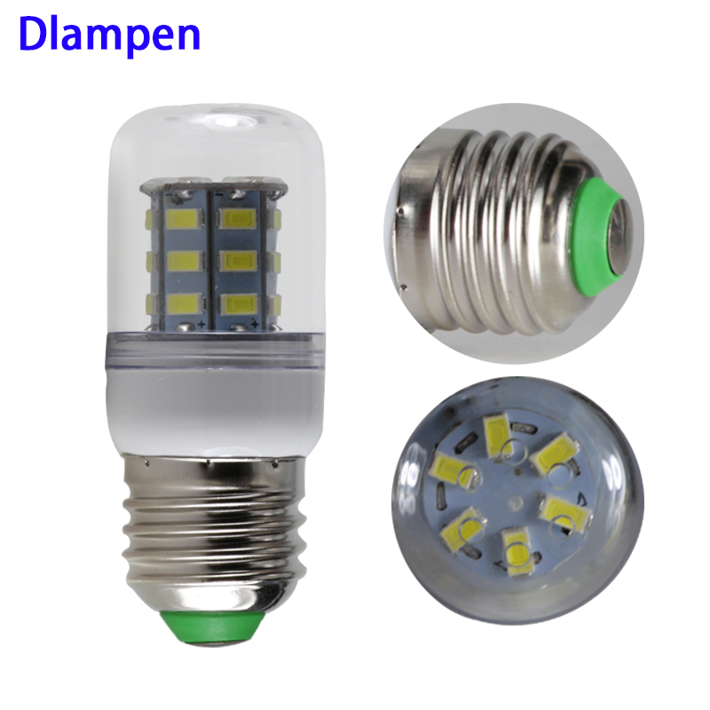 <font><b>bombillas</b></font> <font><b>led</b></font> e27 corn bulb 3W Ac Dc 12v to 24v 5730 light 12 <font><b>24</b></font> <font><b>V</b></font> volts low voltage energy saving lamp 360 degree 3000K 6000K image