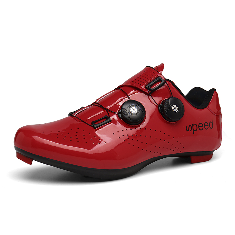 Self-Locking Road Cycling Shoes Men Road Bike Racing Shoes Breathable Ultralight Athletic Zapatillas Ciclismo Sneakers