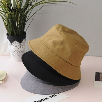 Soild Foldable Bucket Hat  5