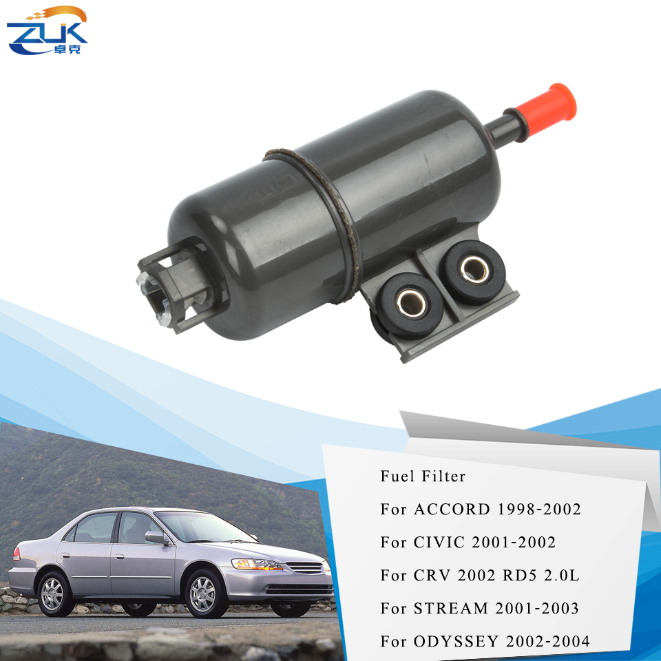 ZUK Fuel Filter Fuel Strainer For HONDA CIVIC ES 2001 2002 ACCORD 1998 2002  ODYSSEY 2002 2004 CRV RD5 2002 STREAM 2001 2003|accord fuel filter|crv  fuelhonda civic fuel filter - AliExpress | 2005 Honda Civic Fuel Filter Location |  | AliExpress