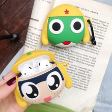 Keroro Gunsou 3D Earphone Case For Airpods Pro Cute Frog Cartoon Bluetooth Headphone Earpod