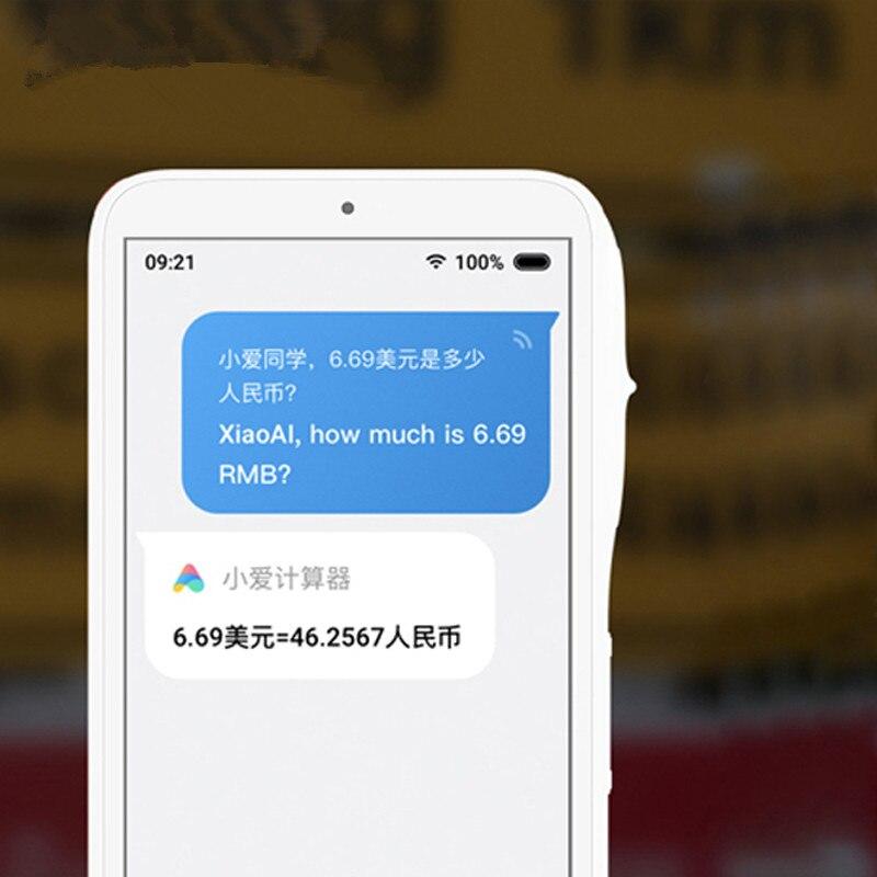 Оригинальный Xiaomi умный обучающий аппарат переводчик wifi версия Xiaoai Teacher 30 языков Bluetooth защита глаз считывающая машина - 3