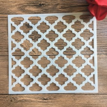 20 *20 cm size diy craft mandala mold for painting stencils stamped photo album embossed paper card on wood, fabric, wall