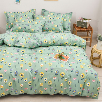 Classic Bedding Set Yellow And White Daisy