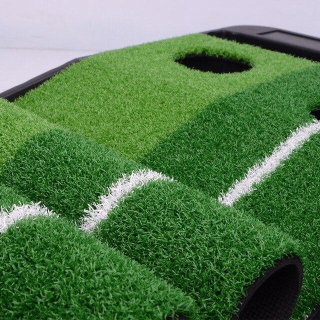 Pgm 2.5 M/3 M Golf Putting Zerbino Allenatore Allenamento di Golf Putter Green Putter Tappeto Pratica Set Sfera di Ritorno Mini golf Putting Green Fairway 6