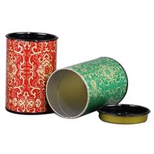 Star Packaging Custom Printed Creative  Food Round Kraft Paper Tube