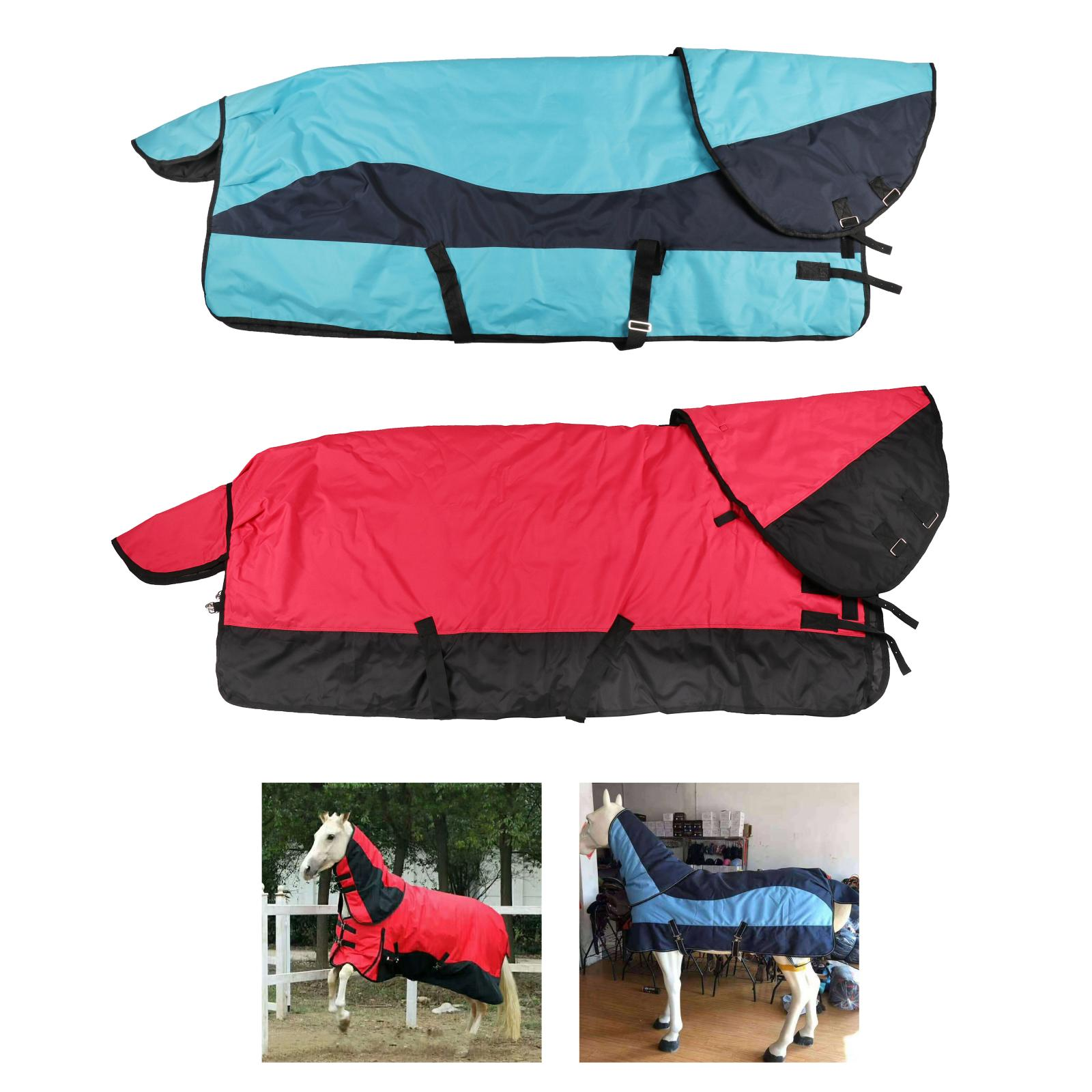 All-Around 6000D, 350 G Horse Turnout Blankets for Horse - Waterproof, Breathable and Perfect for Frigid Winter