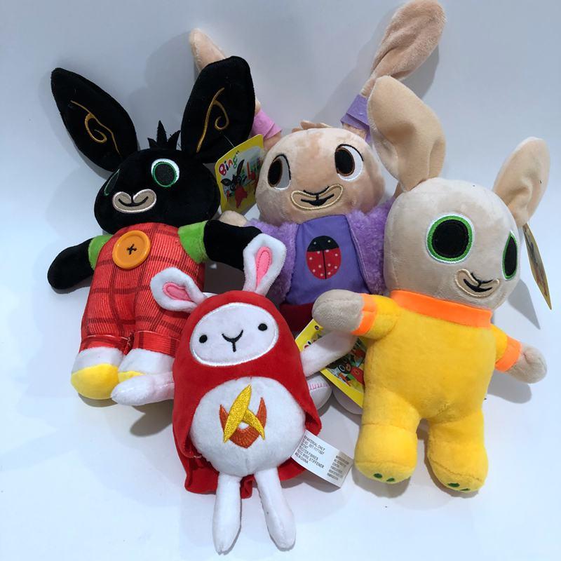 15-35CM Bing Plush Toys Cute Bing Rabbit Plush Toy Doll Soft Stuffed Animals Toys For Kids Children Girls Halloween Gifts