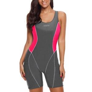 Image 3 - Riseado ספורט Boyleg חתיכה אחת בגד ים חדש 2020 בגדי ים נשים טלאי רחצה חליפות רייסר חזרה הכשרת נשים