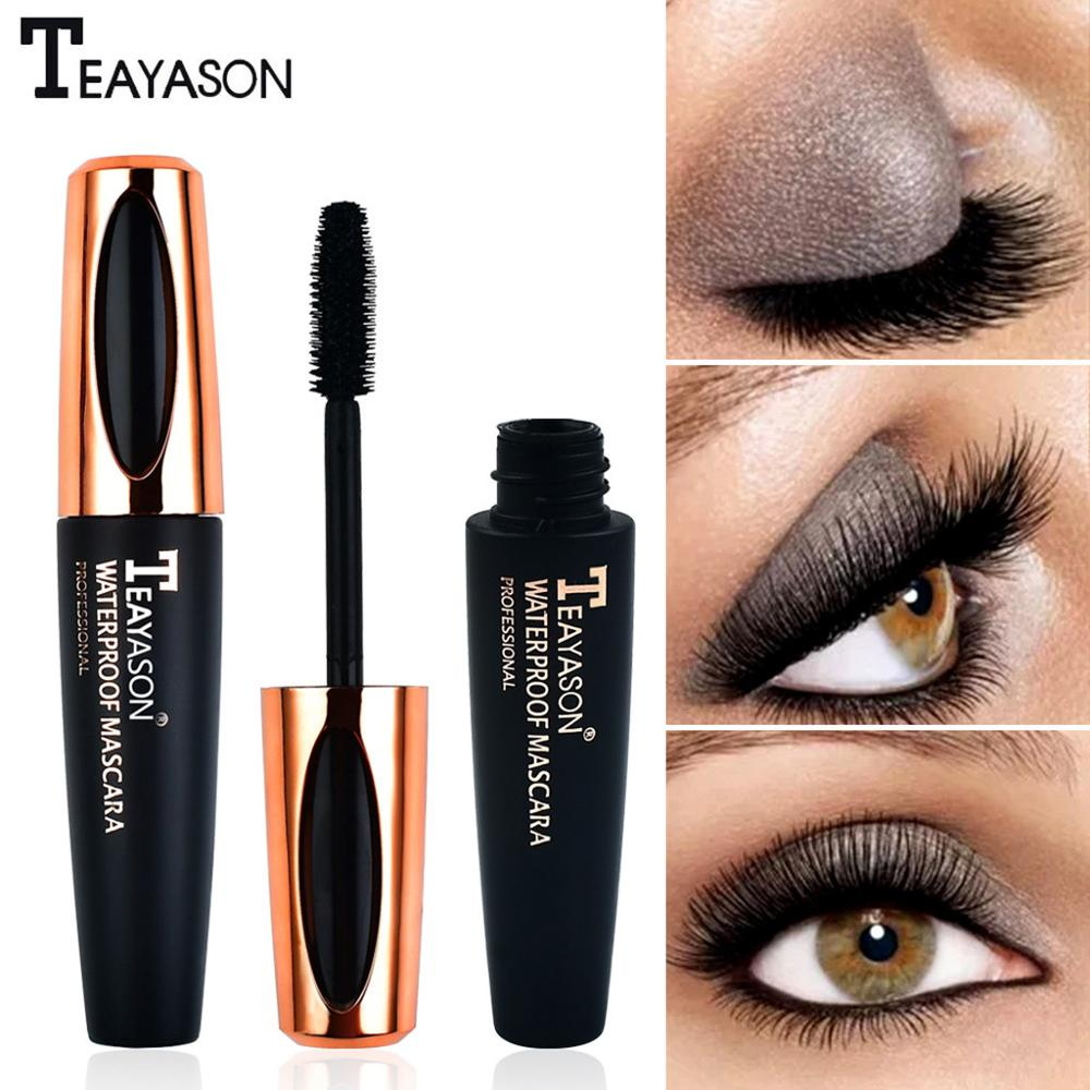 Black Mascara Тушь для ресниц Waterproof Makeup Eyelash Long Curling Mascara Eye Lashes Extension Maskara