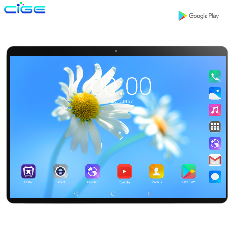 2020 Newest 10 Inch Tablet Pc 3G WCDMA 4G Lte Phone Call Tablets 6GB RAM 128GB ROM Octa Core Dual SIM Card GPS WIFI Bluetooth