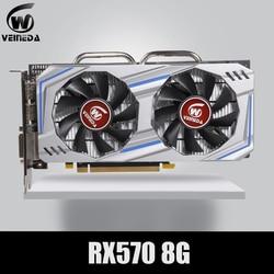 Scheda Video Rx 570 Directx 12 8 Gb 256-Bit GDDR5 Rx 570 Pci Express 3.0X16 Dp hdmi Dvi Pronto per Amd Scheda Grafica Geforce Giochi