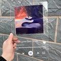 Nach Spotify Stil Acryl Musik Bord Spotify Glas Persönliche Foto Stil Paar Acryl Jahrestag Fotoalbum Plaque