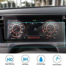 Pet filme protetor de tela para tucson nx4 2021 lcd instrumento painel tela auto acessórios interiores do carro rádio