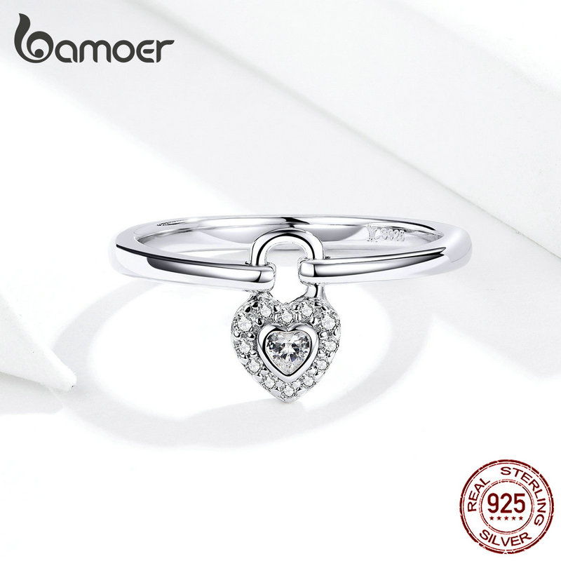 JL Women Ring Sterling Silver Open Adjustable Finger Ring with Rope Shape Romantic Style Gift