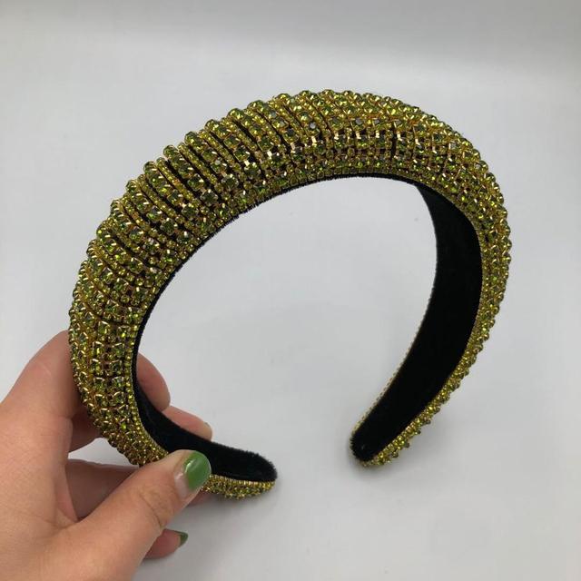 Full Crystal Sponge Headband  6