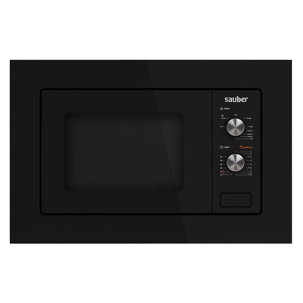 Microware Oven Integrable Sauber HMS01B 20 Liters With Grill Black
