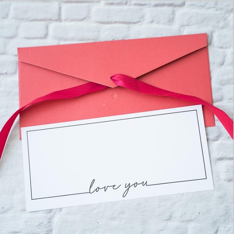 1шт% 2Fpack С наилучшими пожеланиями Пожелания Приветствие Правда Приглашение Карта любовь ты свадьба открытка Спасибо ты открытка