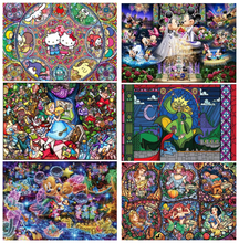 Fezrgea new listing 5D DIY diamond painting cartoon princess mouse embroidery cross-stitch rhinestone decoration gift
