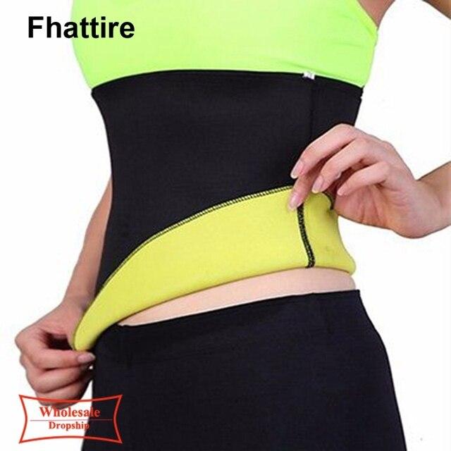 Plus Size Fitness Women Slimming Waist Belts Neoprene Body Shaper Training Corsets Cincher Trainer Promote Sweat Bodysuit 3