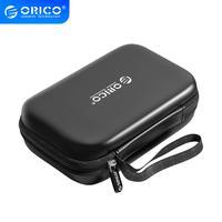 ORICO Externe Lagerung Schwerer Fall HDD SSD Tasche für 2,5 Festplatte Power Bank USB Kabel Ladegerät Power Bank Kopfhörer fall
