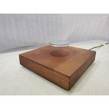 עץ מעטפת נושאת עומס משקל 500g ריחוף מגנטי עם LED מנורת H3 005