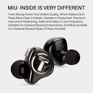 Image 4 - TFZ MONICA Hifi  In Ear Earphones Moving Circle Headset Metal Stereo Headphone Detachable Design  for T2 S2