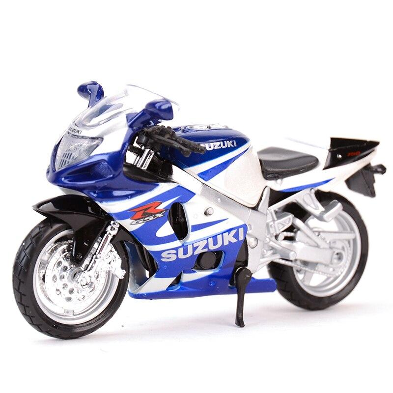 Maisto 1:18 Suzuki GSX-R750 R600 R1000 1300R RM-Z250 SV650S Diecast Alloy Motorcycle Model Toy