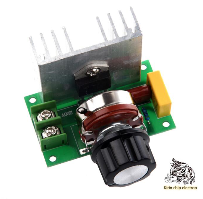 5PCS/LOT 4000W SCR Regulator High-power Controlled Silicon Regulator Speed Control Dimming Controller