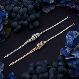 Image 5 - Jewelry Set HADIYANA Trendy Zirconia Luxury Women Wedding Party Bridal Necklace Earrings Ring And Bracelet Set CN1373 Bisuteria