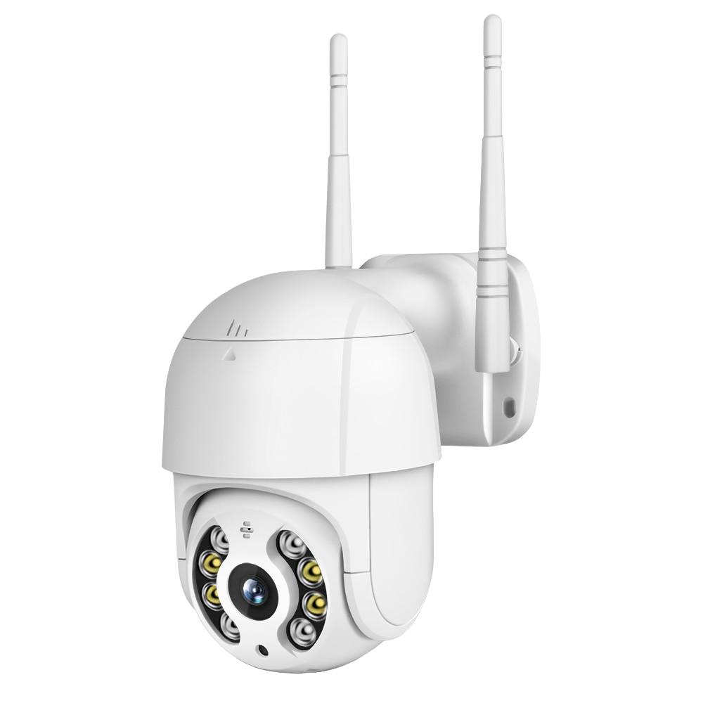 FREDI Outdoor Waterproof PTZ IP Camera 2MP 1080P Speed Dome Surveillance Cameras Wireless Network WiFi Home Security CCTV Camera