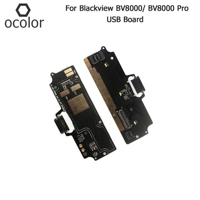 Ocolor สำหรับ Blackview BV8000 USB Charge BOARD ประกอบชิ้นส่วนซ่อมสำหรับ Blackview BV8000 Pro USB โทรศัพท์อุปกรณ์เสริม