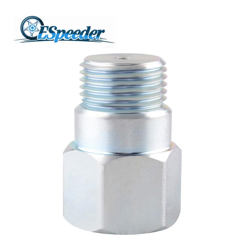 ESPEEDER M18*1.5 O2 Sensor Spacer Adapter Isolator Extender Lambda O2 Oxygen Sensor Extender Spacer Universal