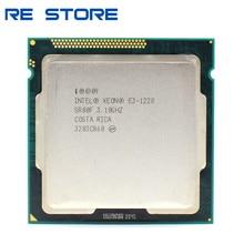 Процессор Intel Xeon E3 1220 3,1 ГГц 5 ГТ/с четырехъядерный SR00F LGA 1155, б/у