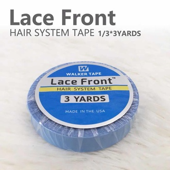 3 yards Blue lace front support tape for wig toupee tape double side tape for tape hair extension 1