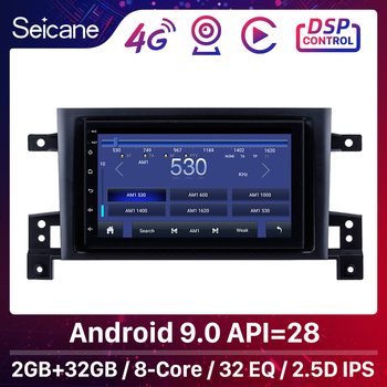 Seicane Android 9.1 7 Head Unit For SUZUKI GRAND VITARA 2005 2006 2007 2008-2015 Radio Audio Car GPS Multimedia Player 2DIN image