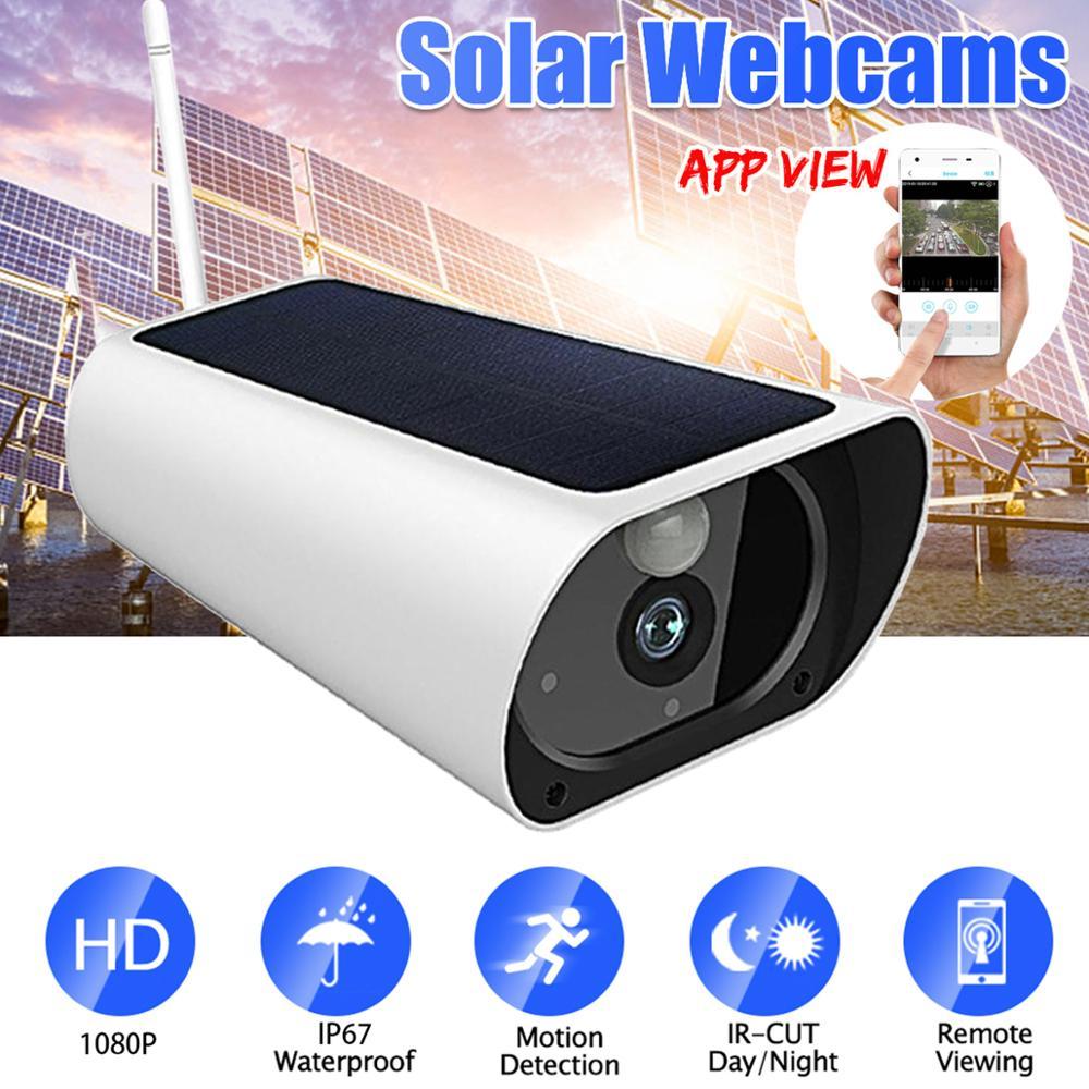 Wasserdichte HD 1080P Solar Kamera Infrarot Nachtsicht 4G Intelligente echtzeit Überwachung Stimme Intercom Alarm Gerät - 3