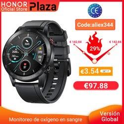 глобальная версия Honor Magic Watch 2 умные часы Bluetooth 5,1 умные часы с кислородом крови 14 дней водонепроницаемые часы MagicWatch 2