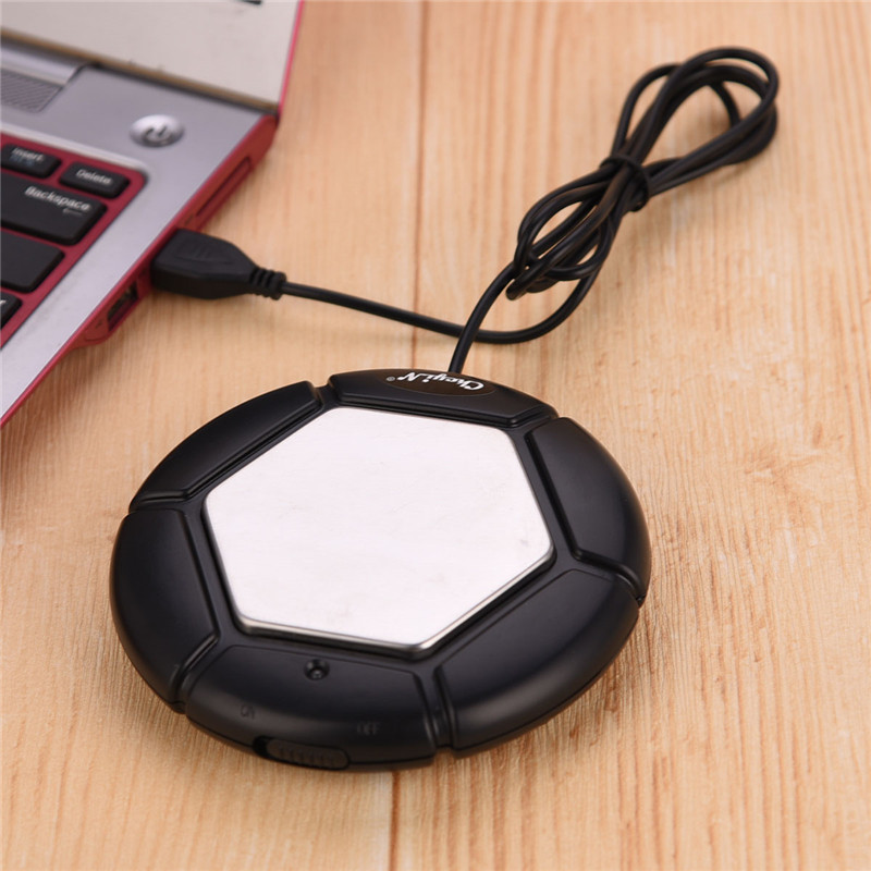 Electric Tea Warmer Cup Heater Mug Milk Warmer Usb Coffee Warmer Heater Coaster Coffee Heating Mat For Baby Bottle Heater