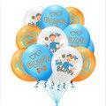 Оригинальный Blippi Theme12 дюймов латексный воздушный шарик на день рождения ребенка вечерние украшения