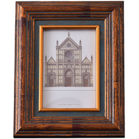 Retro creative European style 7 inch 5/6/8/10 inch photo solid wood table frame ornaments frame table