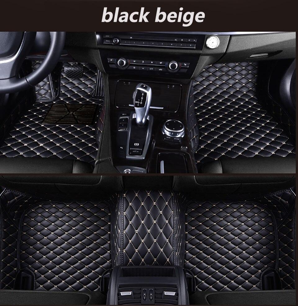 Dekabr кожаные автомобильные коврики для Renault Duster 2013 2014 2015 2016 2017 2020 пользовательские автомобильные накладки для ног автомобильный коврик