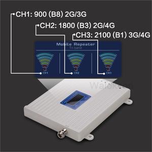 Image 5 - 흰색 900/1800/2100 셀룰러 증폭기 2G GSM 3G WCDMA 4G DCS 900 1800 2100 MHz 신호 리피터 4G LTE 부스터 (LCD 디스플레이 포함)