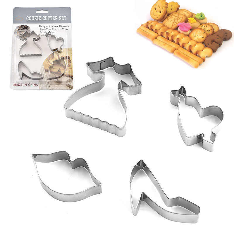 Cookie Cutters Metal Biscuit Mold Mould Cake Pastry Bake Shape Fondant Craft DIY