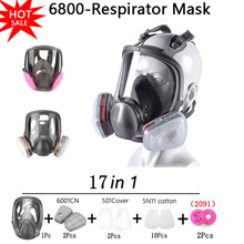 Anti-Fog Anti Dust Respirator Gas Mask Protection Industrial Gas Masks With Activated Carbon Filters Formaldehyde Protection